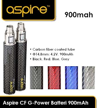 Aspire CF G-Power Batteri 900mAh - 109 KR